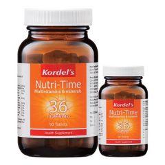 KORDELS NUTRI-TIME MULTIVITAMINS & MINERALS TABLET 90S + 30S