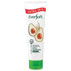 EVERSOFT AVOCADO & RICE BRAN OIL EXTRA NOURISHING FACIAL CLEANSING FOAM 100G