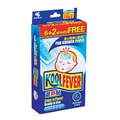 KOOLFEVER CHILDREN FEVER COOLING GEL 6S + 2S