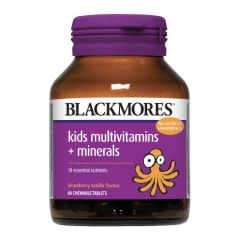 BLACKMORES KIDS MULTIVITAMINS + MINERALS CHEWABLE TABLET 60S