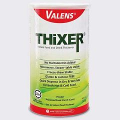 VALENS THIXER (INSTANT FOOD AND DRINK THICKENER) 300G