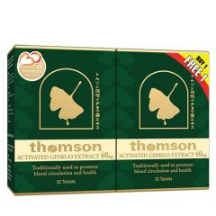 THOMSON GINKGO 40MG 30T + 30T