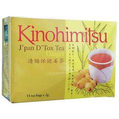 KINOHIMITSU JPAN DTOX TEA GINGER 2G X 14S