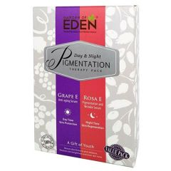 GARDEN OF EDEN PIGMENTATION THERAPY PACK (ROSA E PIGMENTATION SERUM 5ML + GRAPE E ANTI-AGING SERUM 5ML)