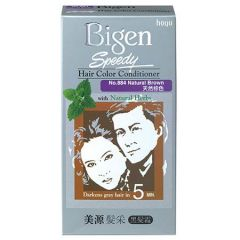 BIGEN SPEEDY HAIR COLOR CONDITIONER NATURAL BROWN 884