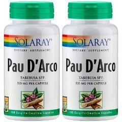 SOLARAY PAU DARCO  100C X 2