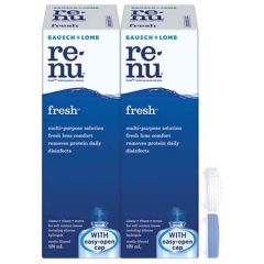 BAUSCH+LOMB RENU FRESH MULTI-PURPOSE SOLUTION 120ML X 2