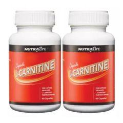 NUTRALIFE L-CARNITINE 2 X 60 CAP