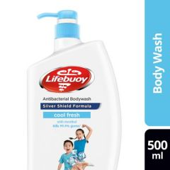 LIFEBUOY SILVER SHIELD COOL FRESH ANTIBACTERIAL BODY WASH 500ML