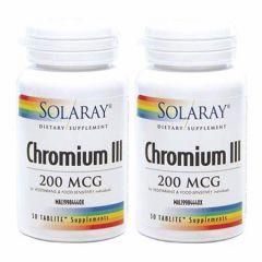 SOLARAY CHROMIUM III 50S X 2