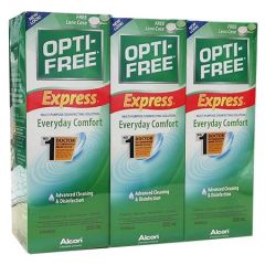OPTI-FREE MULTI-PURPOSE DISINFECTING SOLUTION 355MLX3