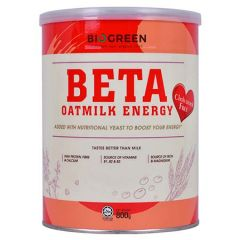 BIOGREEN BETA OATMILK ENERGY CHOLESTEROL 800G