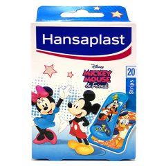 HANSAPLAST MICKEY MOUSE PLASTER STRIP 20S