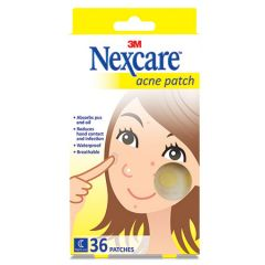 3M NEXCARE ACNE PATCH 36S