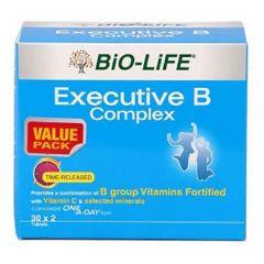 BiO-LiFE EXECUTIVE B COMPLEX TABLET 30S X 2