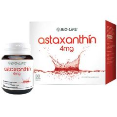 BiO-LiFE ASTAXANTHIN 4MG VEGETABLE CAPSULE 30S