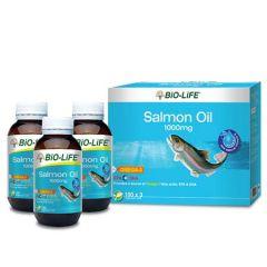 BiO-LiFE OMEGA-3 SALMON OIL PLUS SOFT CAPSULE 100S X 3