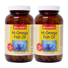 KORDELS HI-OMEGA FISH OIL SOFTGEL CAPSULE 150S X 2