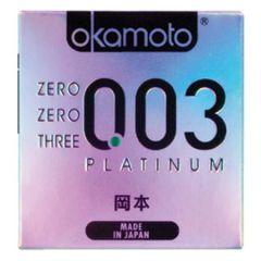 OKAMOTO 003PLATINUM CONDOM 3S