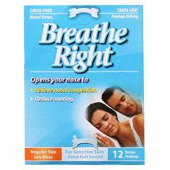 BREATHE RIGHT SENSITIVE SKIN 12S