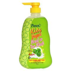 PUREEN KIDS YOGURT HEAD TO TOE WASH-APPLE 750ML