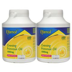 EFAMOL RIGEL EVENING PRIMROSE OIL 1000MG 100S X 2