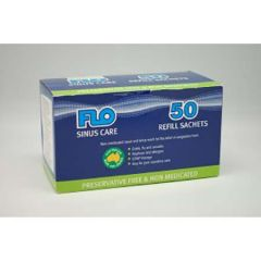 FLO SINUS CARE REFILL PACK SACHET 50S - SINUS & ALLERGY RELIEF