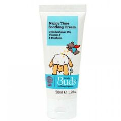 BUDS BABY NAPPY TIME SOOTHING CREAM 50ML