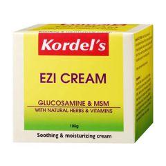 KORDELS EZI CREAM GLUCOSAMINE & MSM SOOTHING & MOISTURIZING 100G