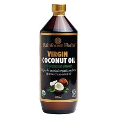 RAINFOREST COCONUT OIL 1000ML
