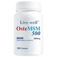 LIVE-WELL OSTEMSM 500MG FOR HEALTHY JOINT TABLET 150S