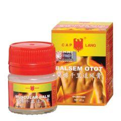 EAGLE BRAND MUSCULAR BALM (BALSEM OTOT CAP LANG) 20G
