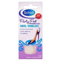 SCHOLL PARTY FEET GEL HEEL SHIELDS
