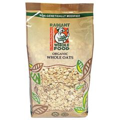 RADIANT ORGANIC WHOLE OATS 750g