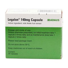 LEGALON 140MG FOR LIVER HEALTH CAPSULE 30S