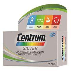 CENTRUM SILVER MULTIVITAMINS & MINERALS + LUTEIN & LYCOPENE TABLET 100S