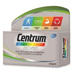 CENTRUM SILVER MULTIVITAMINS & MINERALS + LUTEIN & LYCOPENE TABLET 30S
