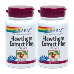 SOLARAY HAWTHORN EXTRACT 75S X 2