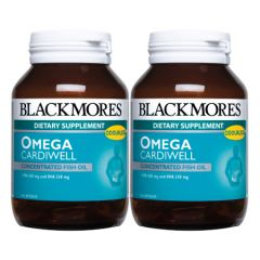 BLACKMORES OMEGA CARDIWELL CAP 60S X 2