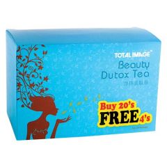 TOTAL IMAGE BEAUTY DUTOX TEA 20s +4s