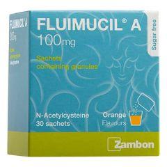 FLUIMUCIL A 100MG SACHET 30S - CLEARS PHLEGM