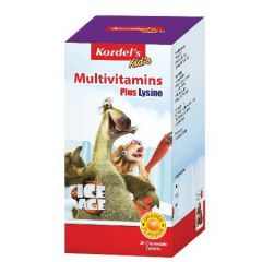 Kordels Kids Multivitamines +Lysine 30S