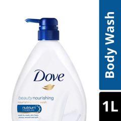 DOVE BEAUTY NOURISHING BODY WASH 1L