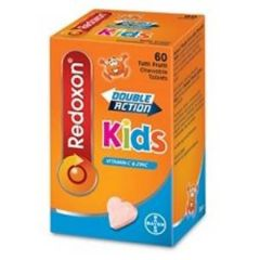 REDOXON DOUBLE ACTION KIDS CHEWABLE 250MG 60S