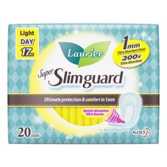 LAURIER PAD SUPER SLIM GUARD ULTRA ABSORBENT 17CM 20S