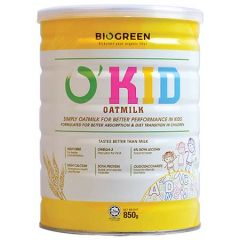 BIOGREEN O'KID OATMILK 850G