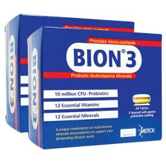 BION 3 PROBIOTIC MULTIVITAMINS MINERALS TABLET 60S X 2