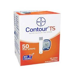 BAYER CONTOUR TS BLOOD GLUCOSE TEST STRIP 25S X 2