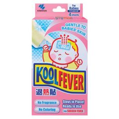 KOOLFEVER BABY FEVER COOLING GEL 4S