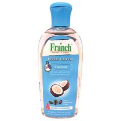 FRANCH HERBAL HAIR OIL COCONUT VOLUME & THICKNESS 200ML